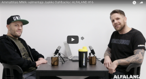 Ammattilais MMA -valmentaja Jaakko Dahlbacka | ALFALAND #16