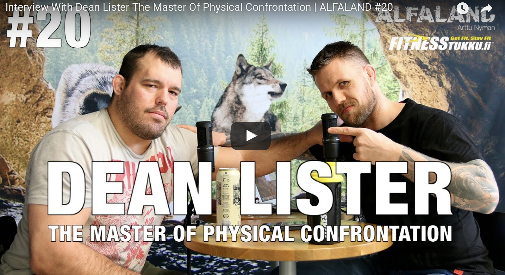 Read more about the article Interview With Dean Lister The Master Of Physical Confrontation | ALFALAND #20