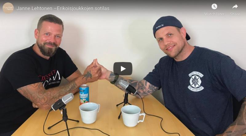 Janne Lehtonen –Erikoisjoukkojen sotilas |ALFALAND #58