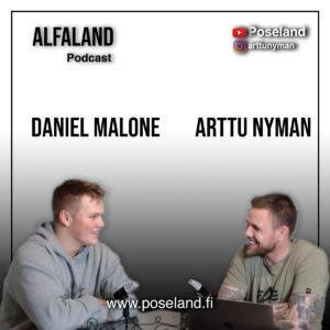 16 vuotiaana Jenkkeihin Amerikkalaisen jalkapallon perässä muuttanut Daniel Malone | ALFALAND #63