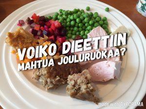 Toinen dieettiviikko – joulu