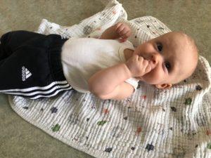Kotitreeni vauvan kanssa osa 1