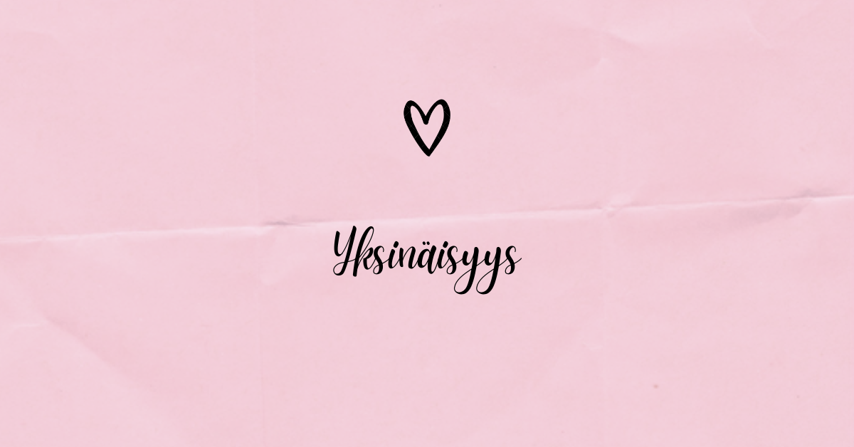 Read more about the article Yksinäisyys