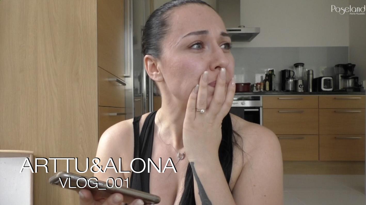 ARTTU & ALONA VLOG_001 | Uusi koti ja ensimmäinen jakso