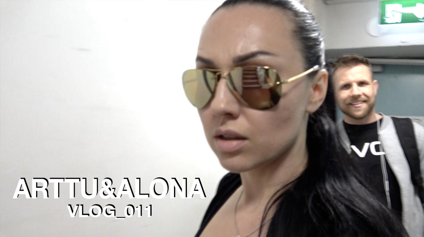 Arttu & Alona Vlog_011 | Alona osallistuu Artun Crossfit tunnille
