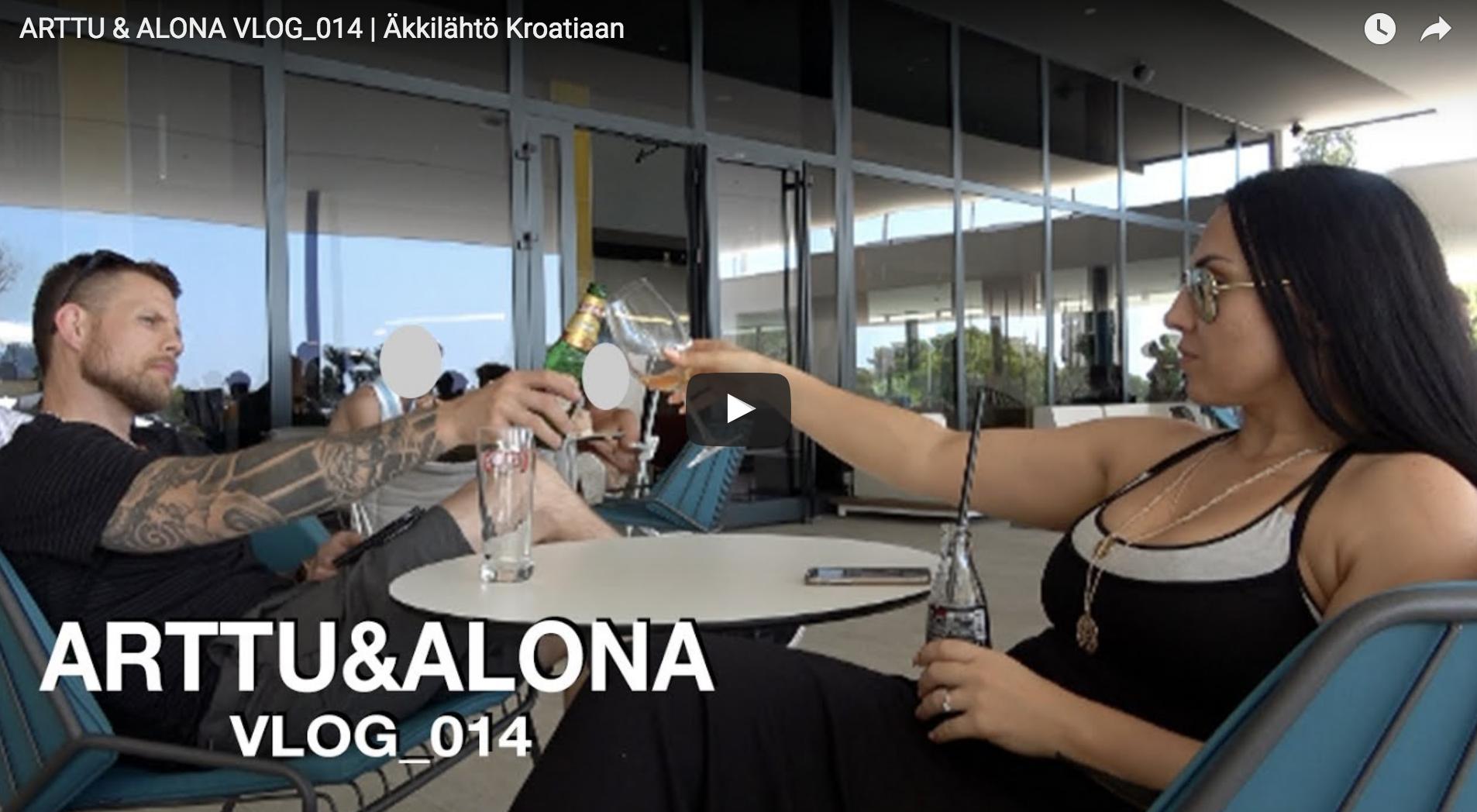 ARTTU & ALONA VLOG_014 | Äkkilähtö Kroatiaan