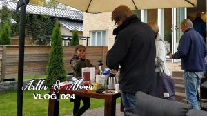 Arttu & Alona Vlog_024 | Lapsityövoimaa