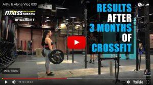 Tulokset 3kk CrossFit kokeilun jälkeen | Arttu & Alona Vlog 033