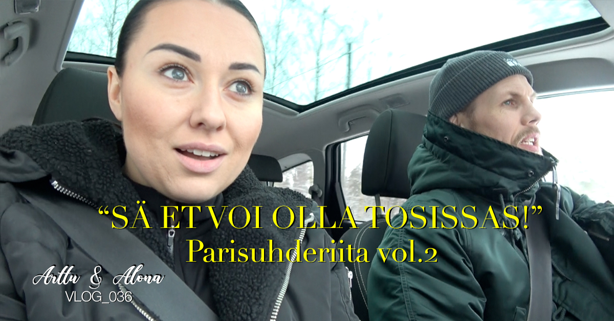 Read more about the article Arttu & Alona VLOG_036