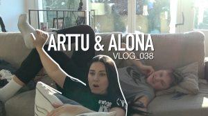 Arttu & Alona VLOG_038 – Meidän hiihtoloma ja toivotut BLOOPERS pätkät