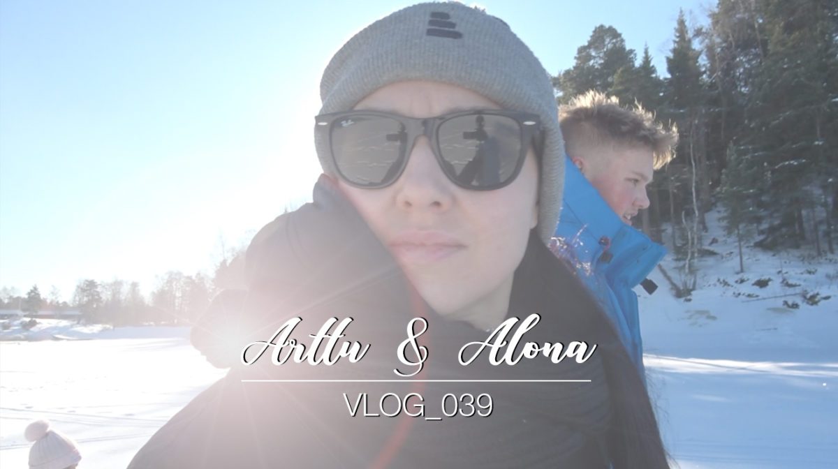 Arttu & Alona vlog_039 | Artun synttärit ja Alonan kärrynpyörät