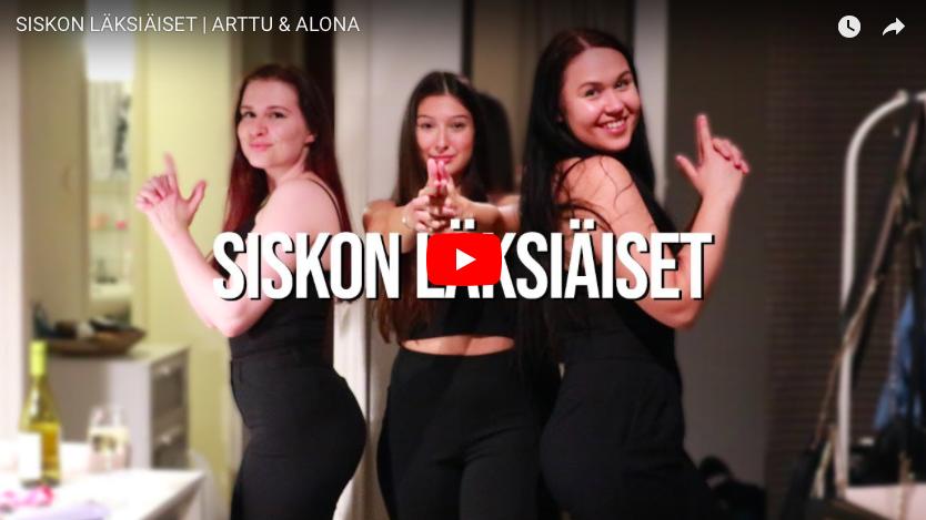 Siskon läksiäiset | Arttu & Alona