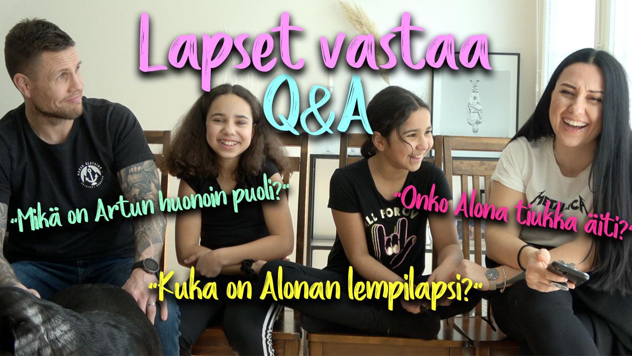 Lapset vastaa Q&A