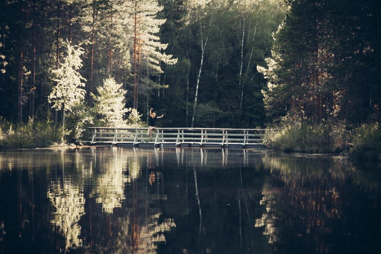Kiljahduksia ja kalastusta, eli kokemuksia telttailusta Evolla