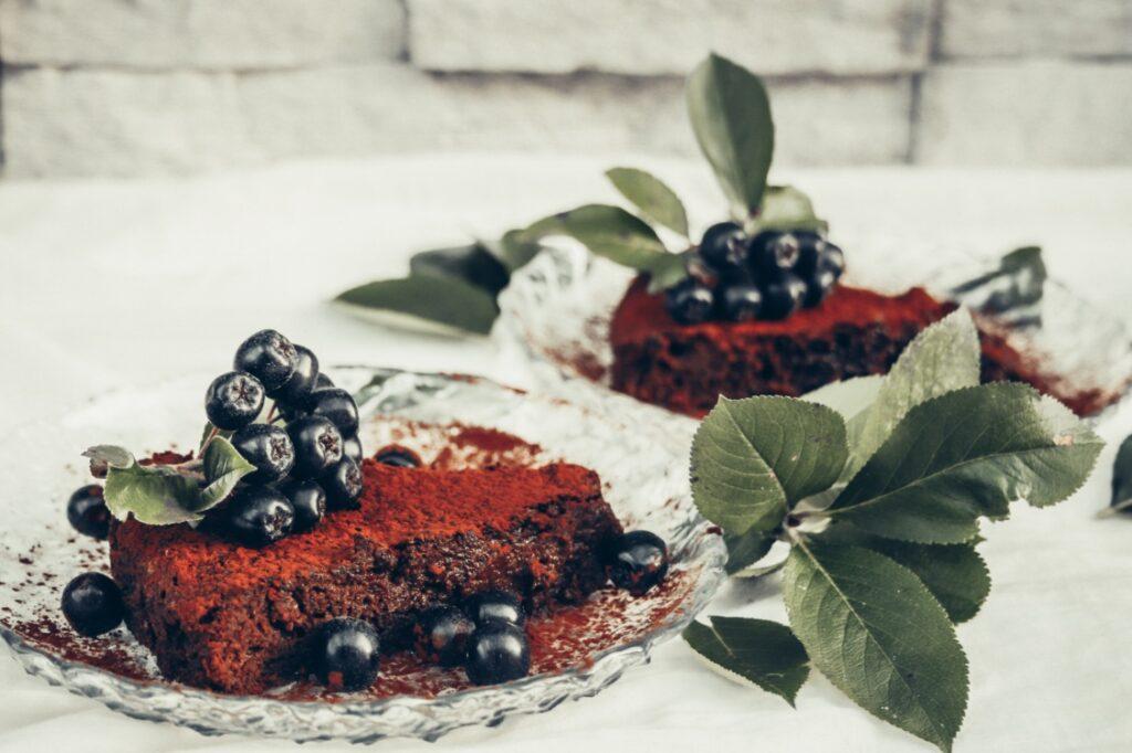 sokeriton terveellinen suklaakakku