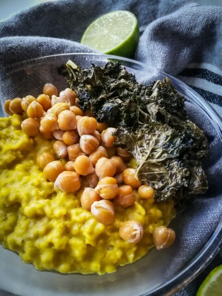 suolainen puuro sitruunapuuro vegaaninen ohje lounaspuuro