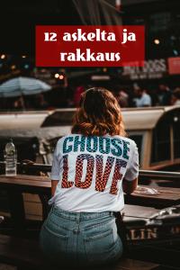 Read more about the article 12 askelta ja rakkaus