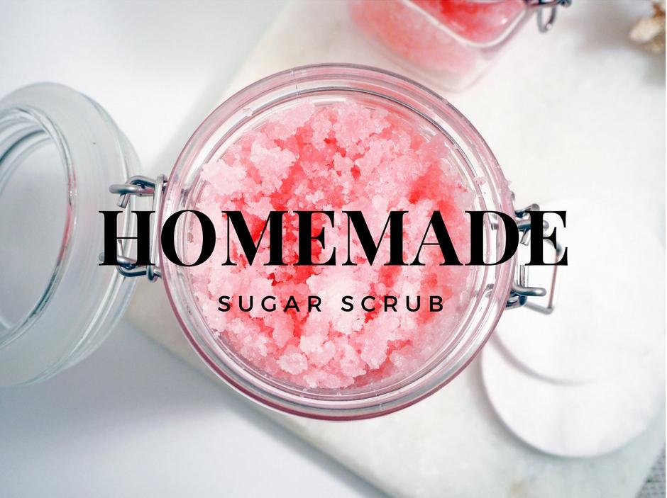 Joululahjaidea: DIY Sugar Scrub