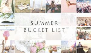 Summer is short – A lot to do!