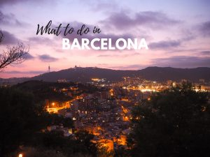Barcelonan Must See