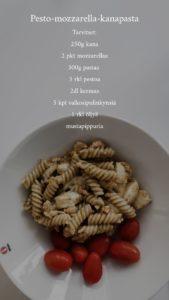 pesto-mozzarella-kanapasta