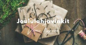 Read more about the article Viimeisen hetken joululahjavinkit !
