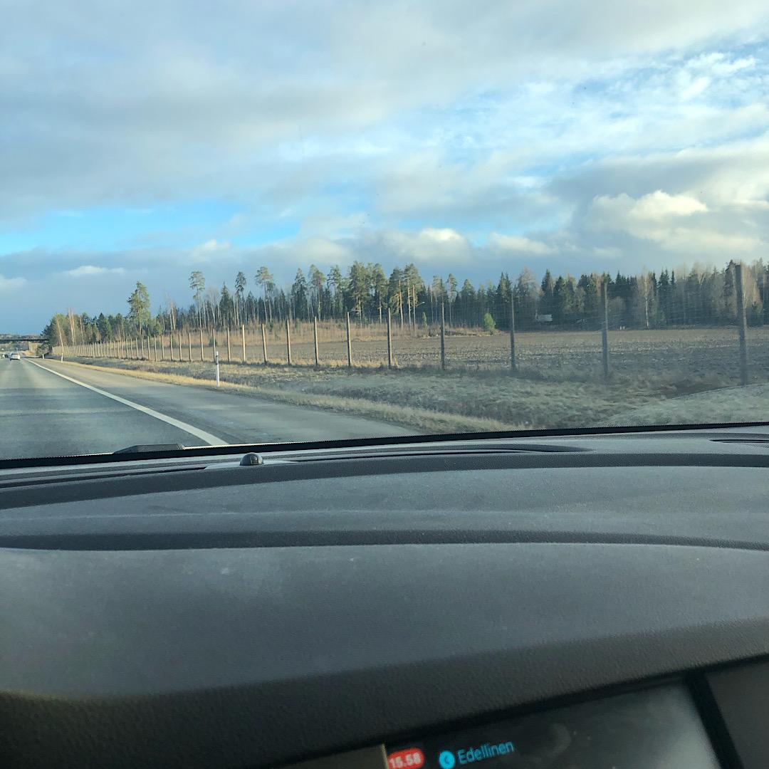 Bastianin eka matka Tampereelle