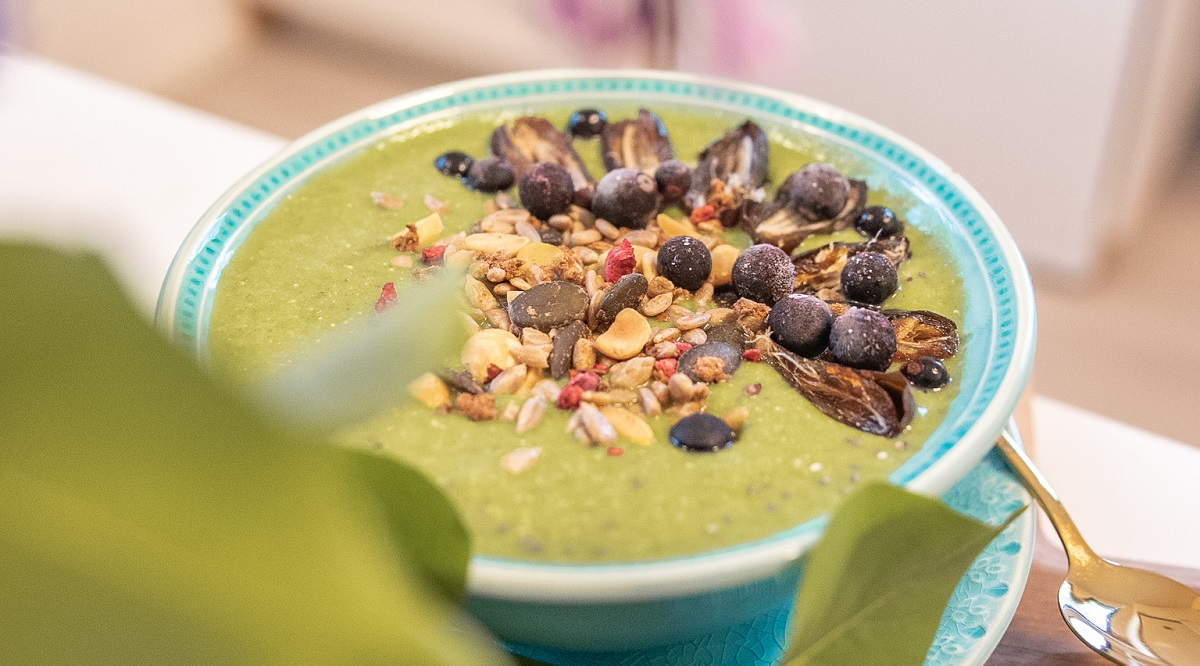 Read more about the article Ruokaisa vihersmoothie