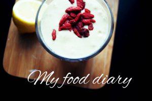 My food diary
