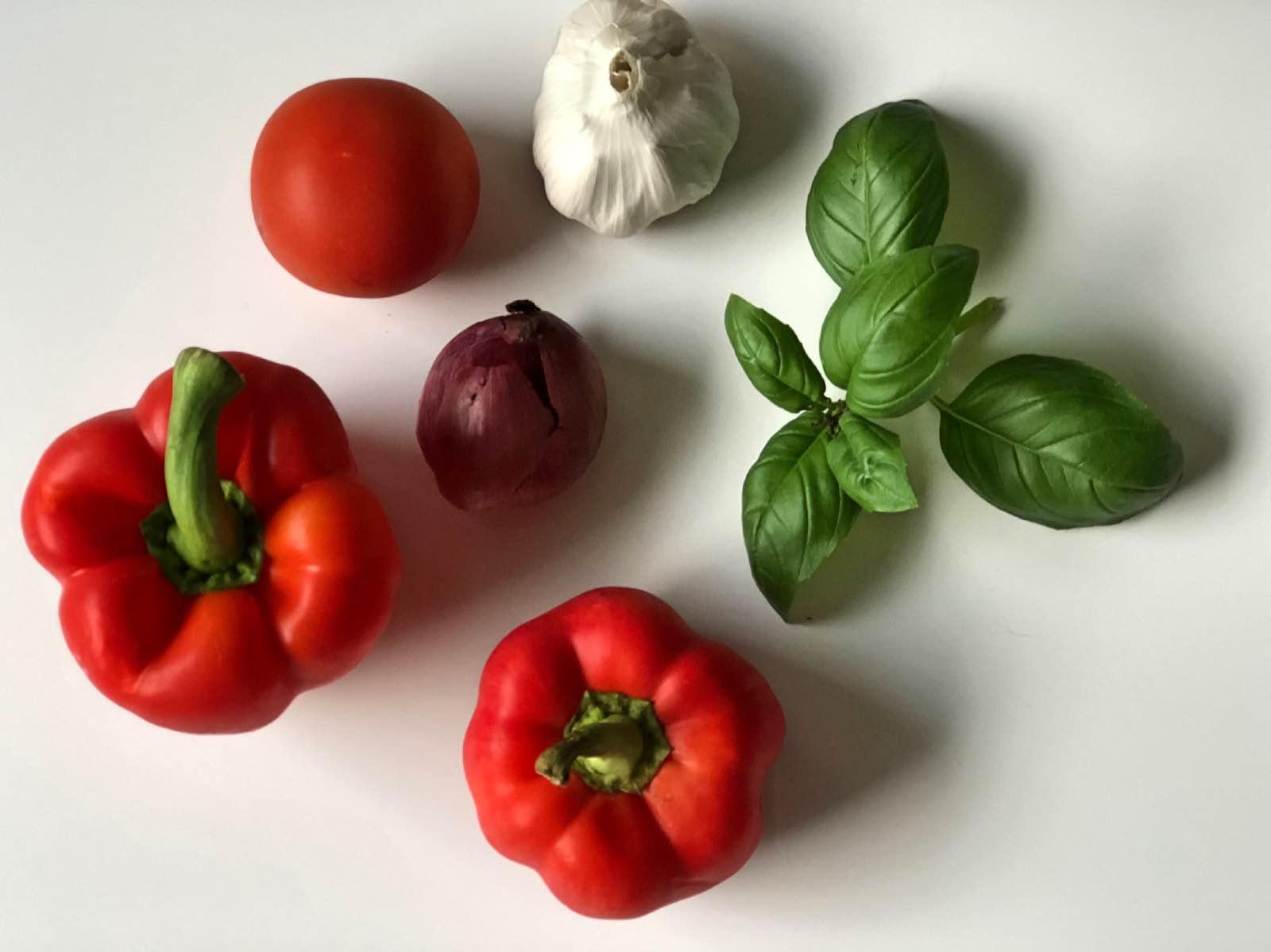 Resepti: täytetyt paprikat