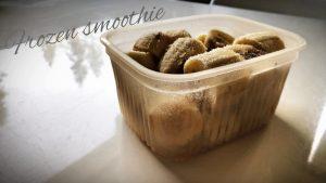 Kurpitsansiemenet ja jäinen baanaani – parempi smoothie