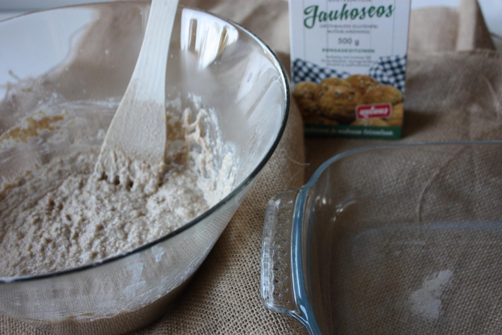 Tuoretta iltapalaa: gluteeniton peltileipä