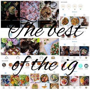 Parhaat ruokaan liittyvät instagram-tilit