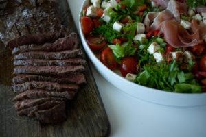 Nautaa grillistä – flat iron steak