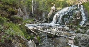 Ylöjärven ainoa vesiputous