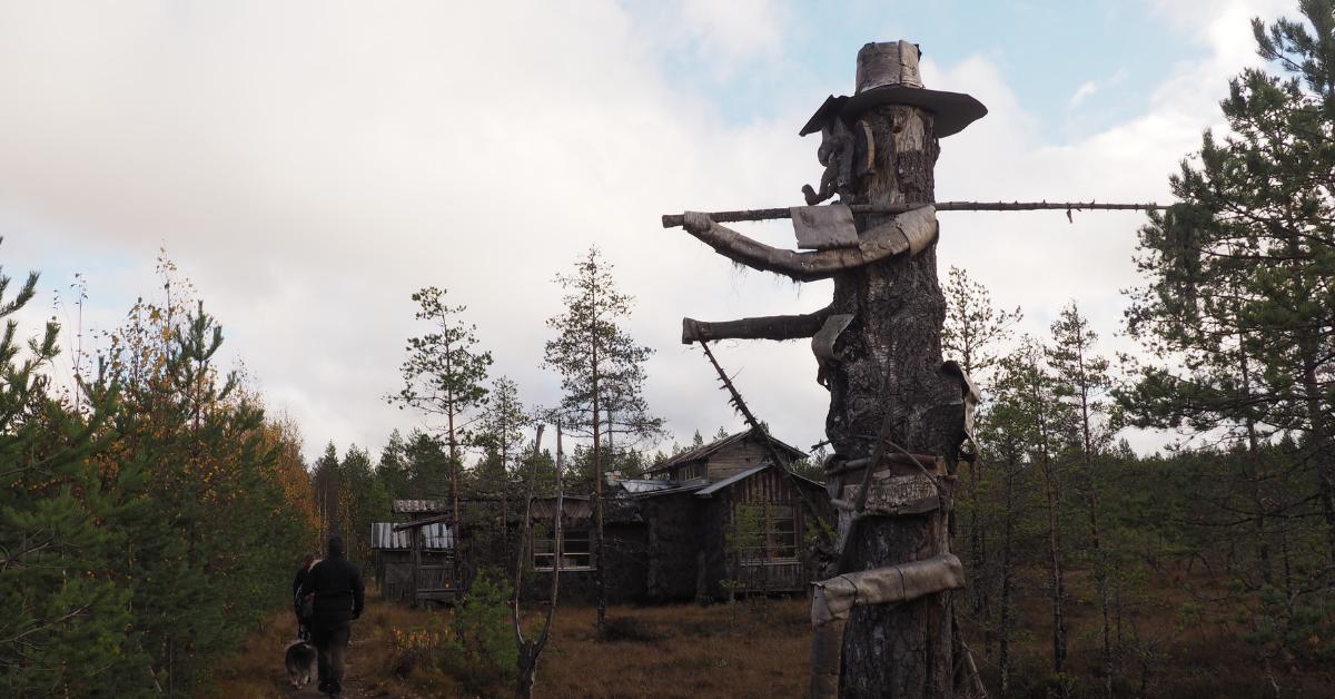 Turistina Nummijärvellä